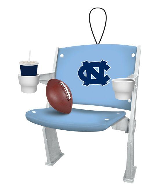 North Carolina Tar Heels Stadium Chair Ornament