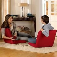 5-Position Floor Chair Set/2 available at SkyMall