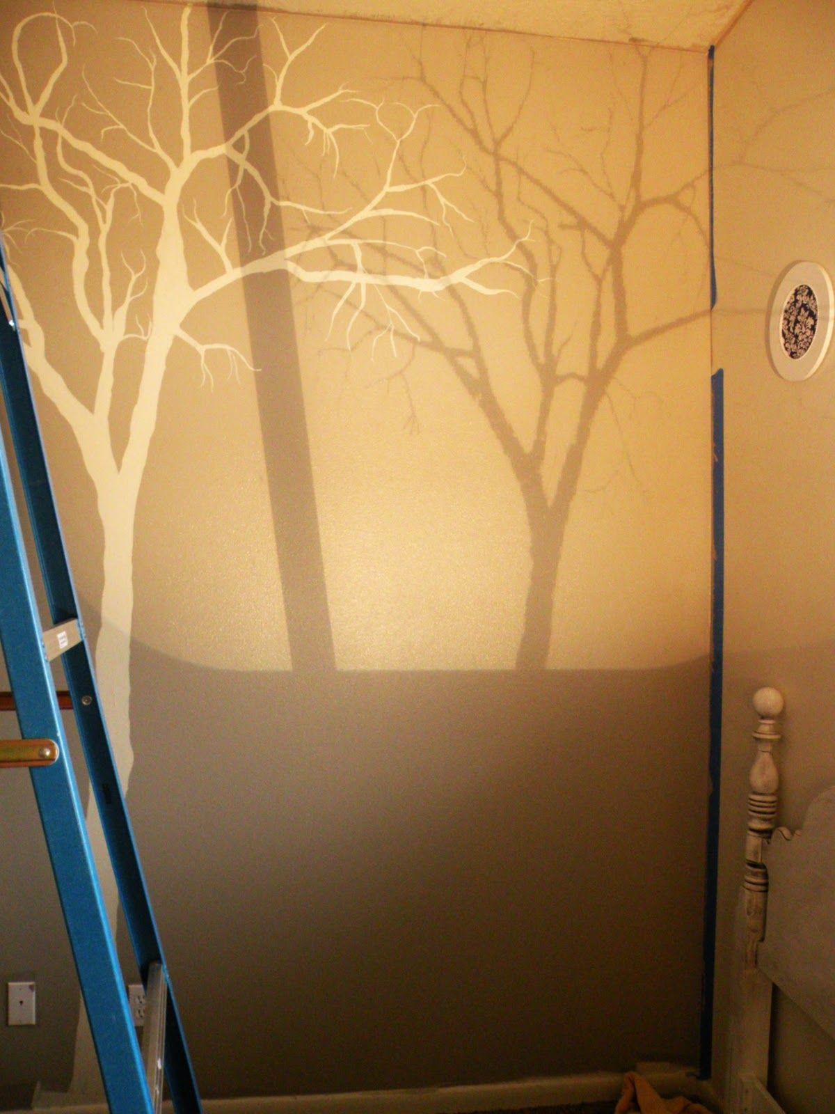 Tree Mural Tutorial | Pinterest | Tutorials, Room and Kids rooms