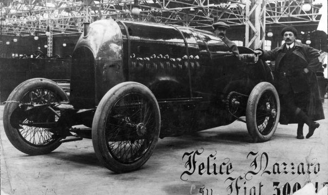 La Bestia di Torino del 1911, ovvero la FIAT S76. 290 cv, 28000cc !!!! 290km/h