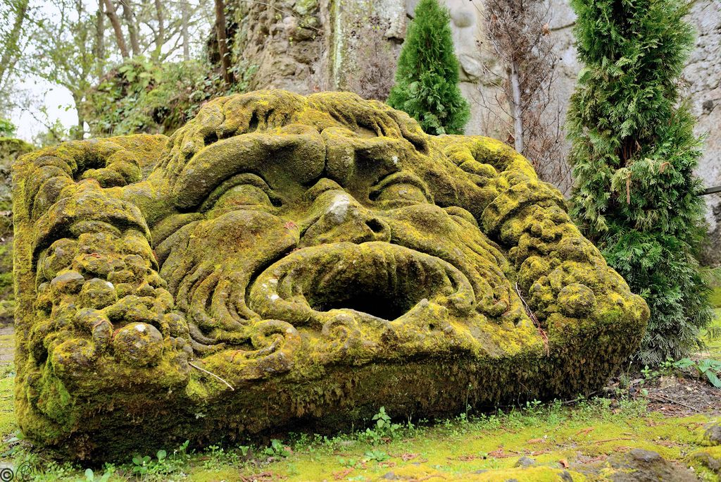 Bomarzo- The Park of Monsters, in Italy