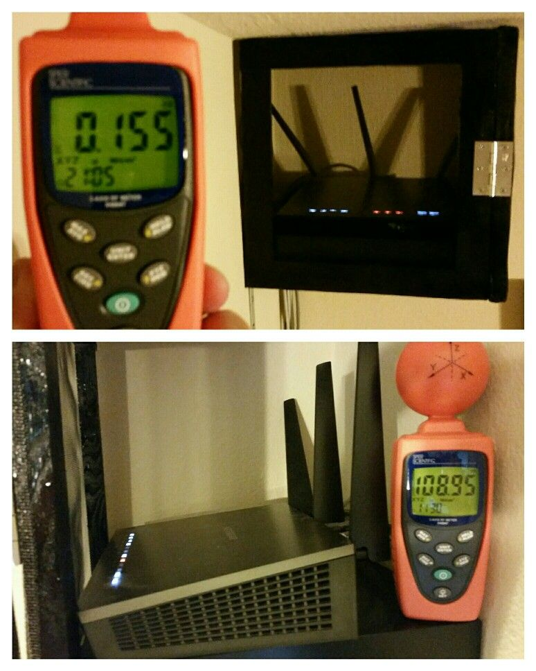 Diy wifi faraday cage get great connectivity without