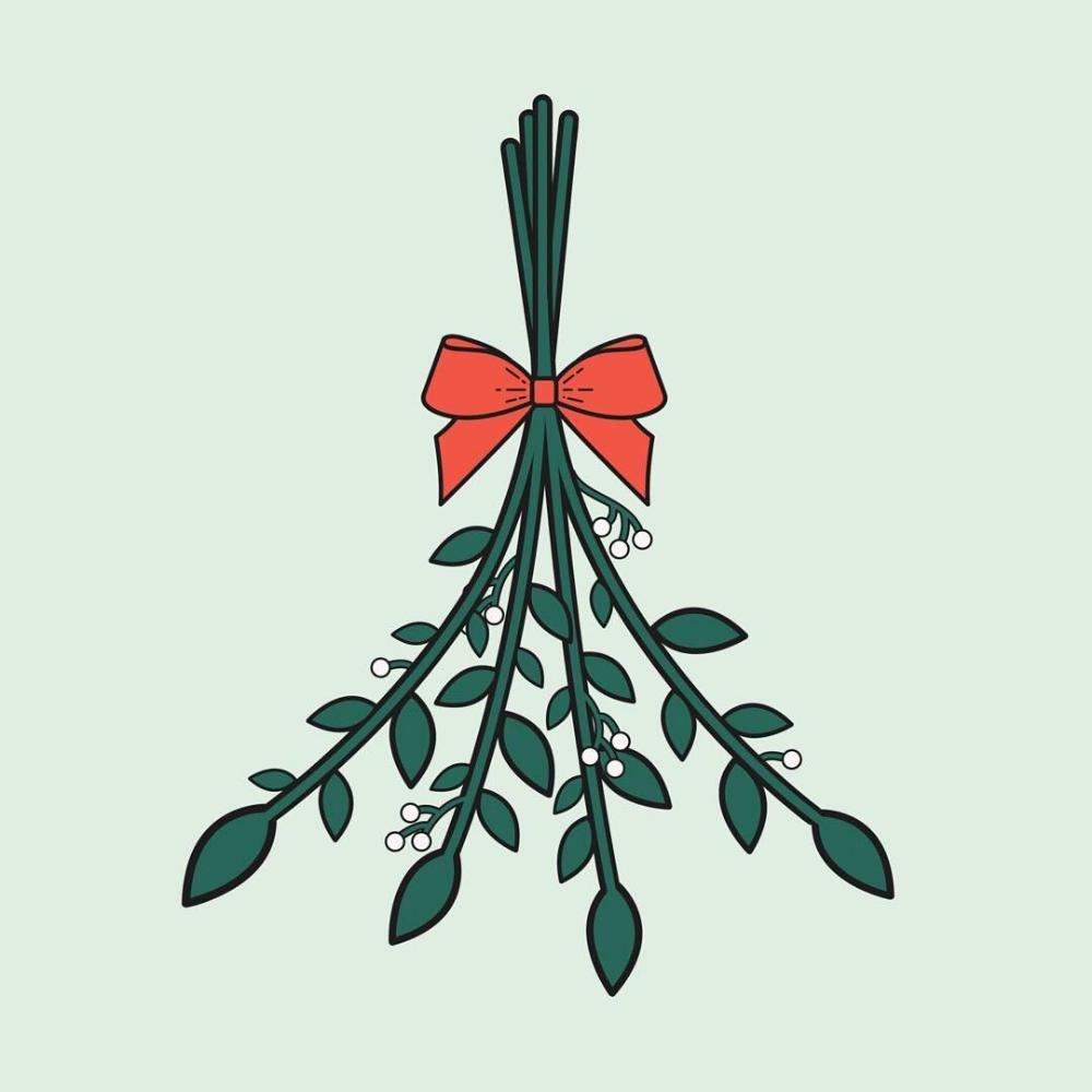 Mistletoe is technically a parasite. Merry Christmas! 🌿
