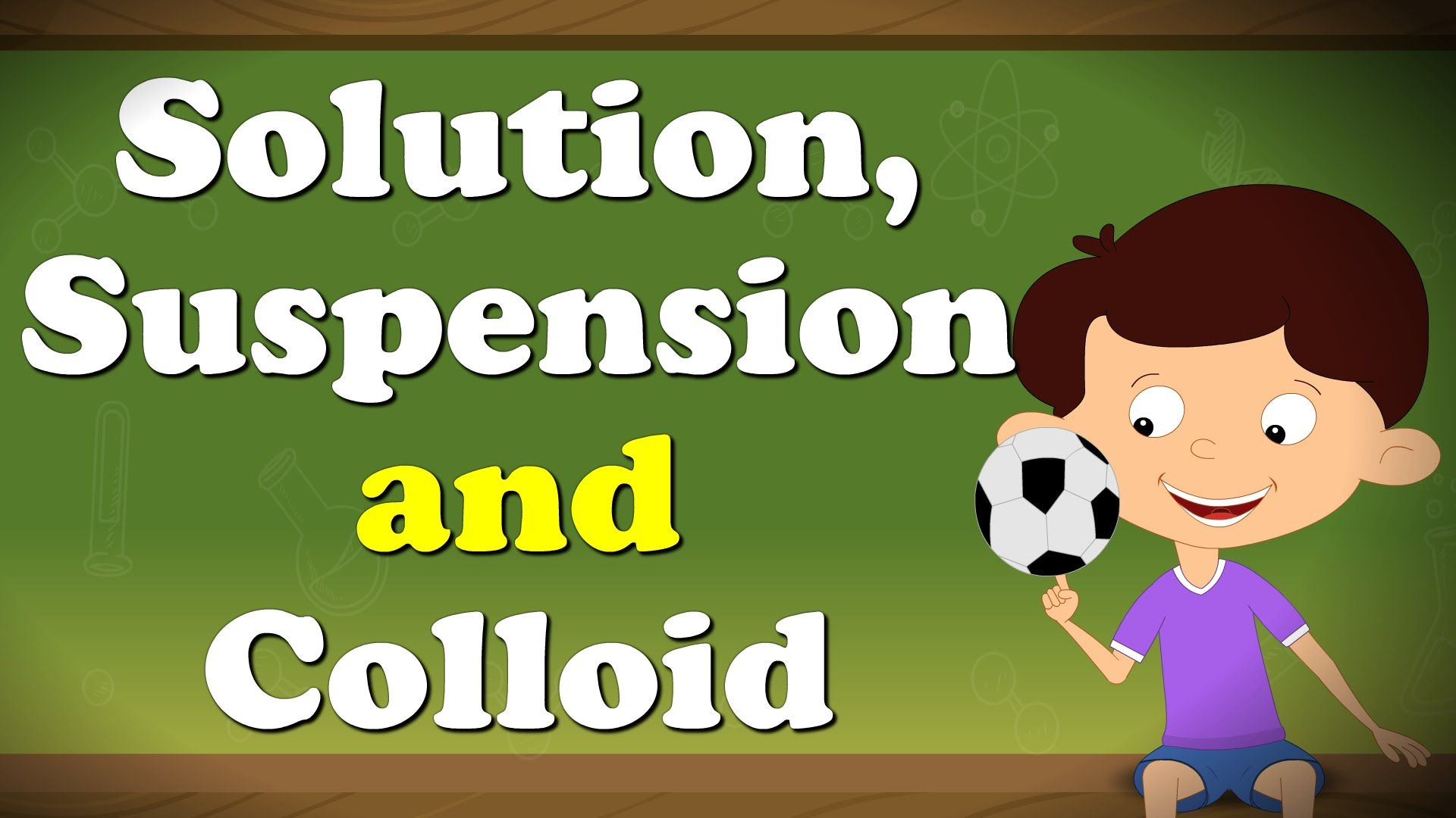 Solution Suspension And Colloid Chemistry Pinterest Science