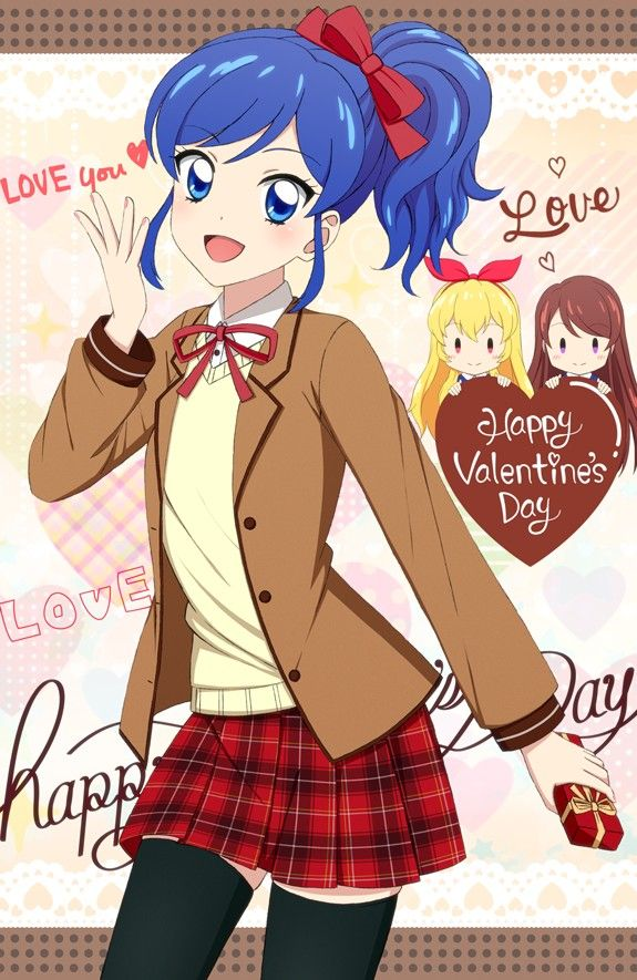 Happy Valentine Day For Team 7 偶像學園 Pinterest Anime And Manga