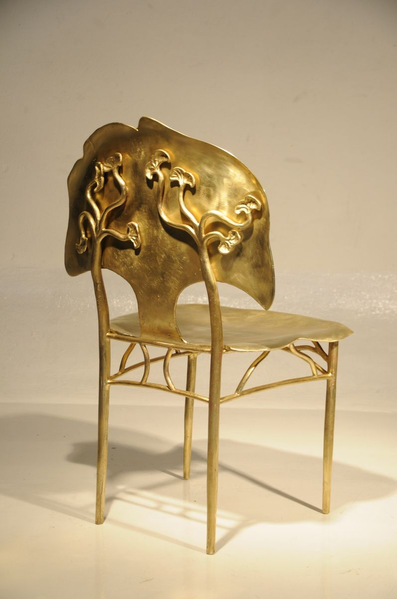 Ginkgo Bronze Chair One of my favorite chairs...just to look at ...