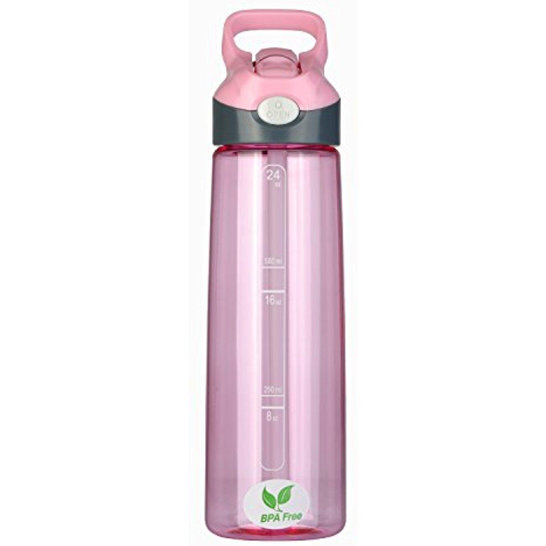 BPA Free Water Bottle 24oz Sports Water Bottle With