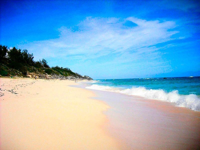 Beach Warwick Long Bay Bermuda