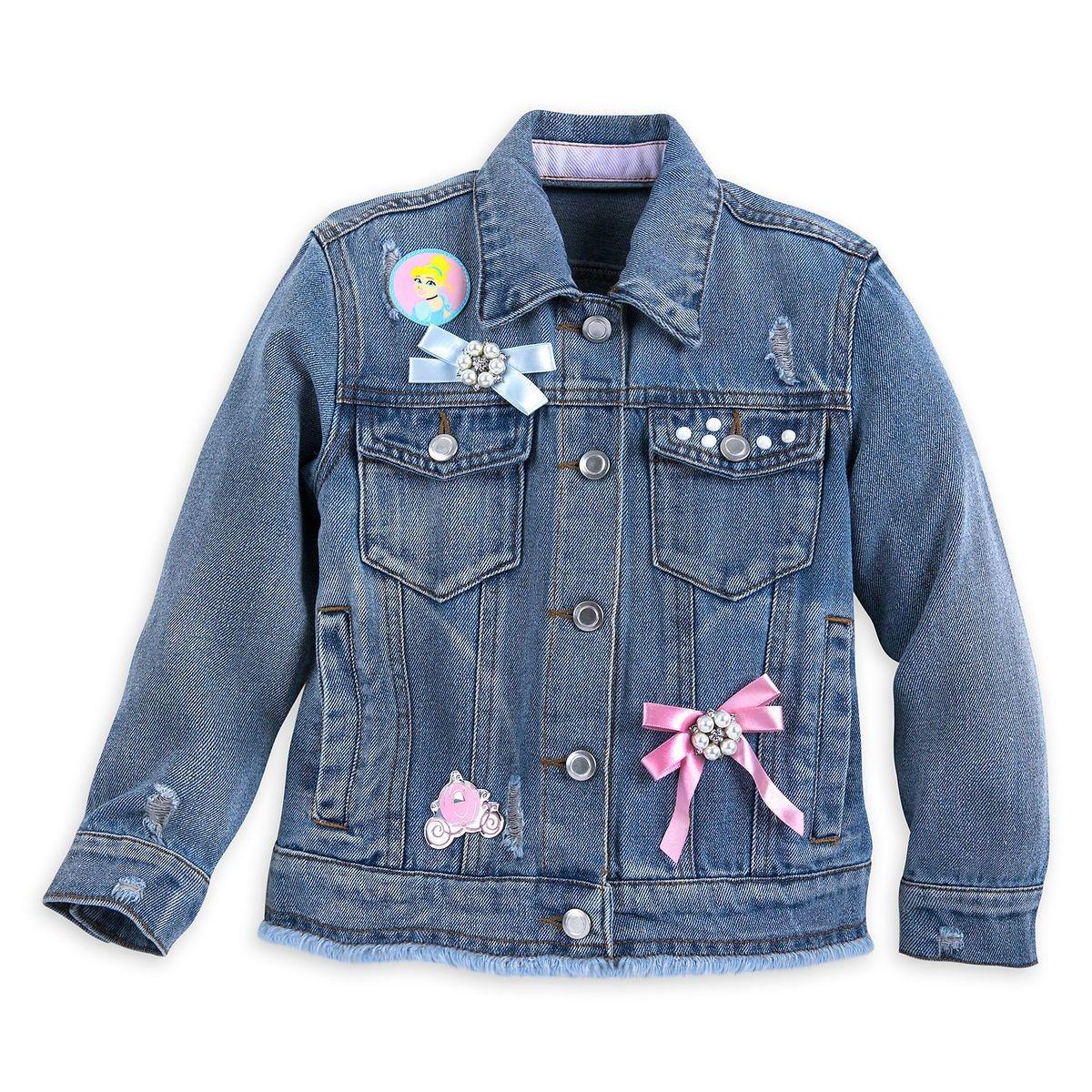 Cinderella Inspired Vintage Look Disney Princess Denim Jacket Girls Denim Jacket Denim Jacket Patches Girls Jacket [ 1200 x 1200 Pixel ]