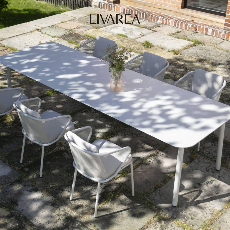 Exklusiver Todus Condor Gartentisch Gartentisch Gartentisch Weiss Tisch