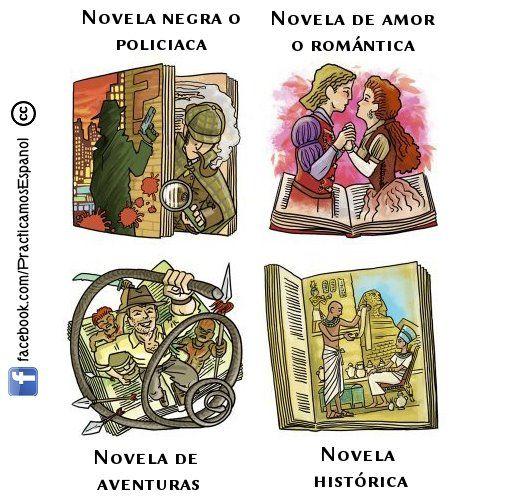 Los Géneros Literarios Espagnol Memes En Espanol