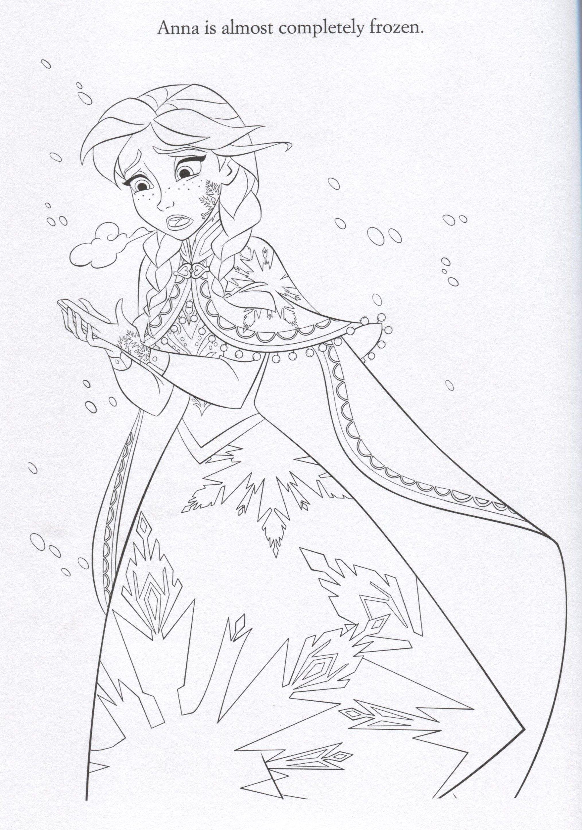 disney frozen coloring sheets Official Frozen