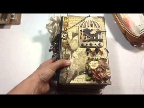 Vertical Paper Bag Mini Album Part 1