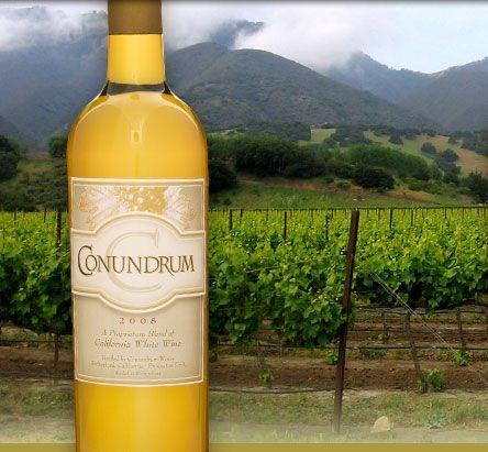 California Sunshine in a Glass: Conundrum White Wine