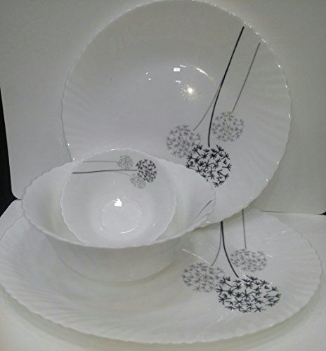 Small Decorative Plates Sets: Soogo Japan 27 Pc Dinner Set 1 Oval Plate 6 Dinner Plates
