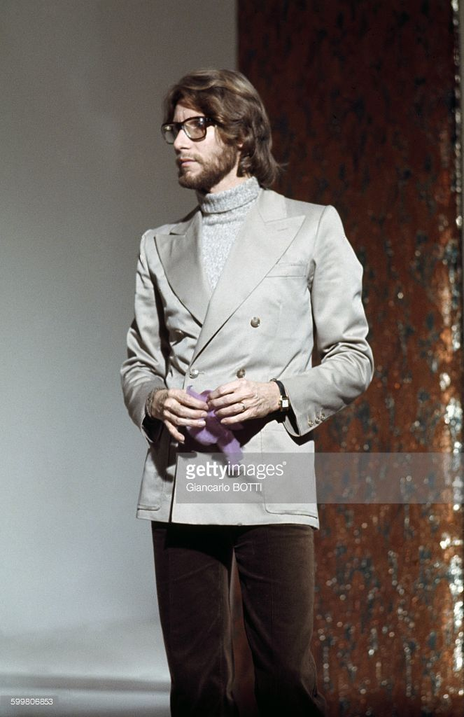 French Fashion Designer Yves Saint Laurent In Paris France Circa 1960 Yves Saint Laurent Men Yves Saint Lauren Yves Saint Laurent