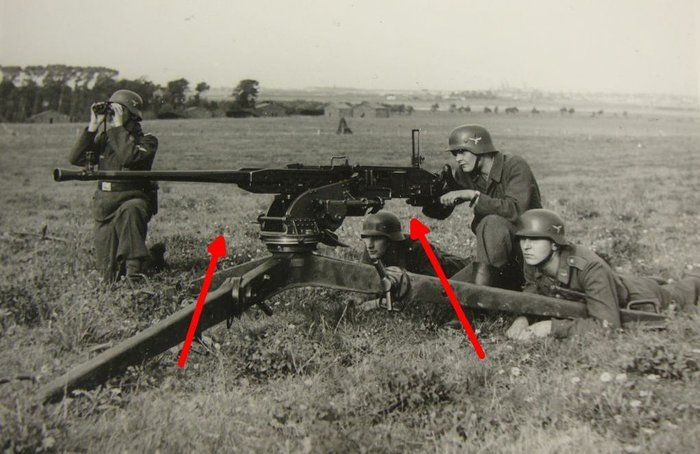 ZB-60 / 15mm Besa heavy machine gun (Czhechoslovakia / UK)
