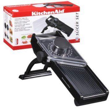 Amazon Com Kitchenaid Mandoline Slicer Set Black Kitchen Dining Mandolin Slicer Kitchen Aid Slicer