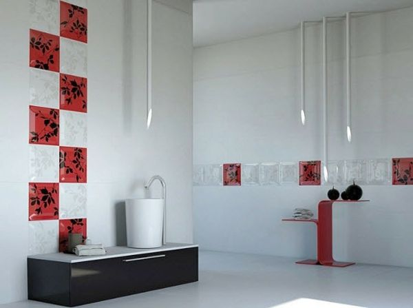 Le carrelage mural de salle de bain - salle de bain carrelee