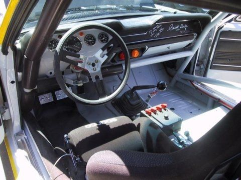 Ford Mustang Jerry Titus Tribute Trans Am Race Car Interior