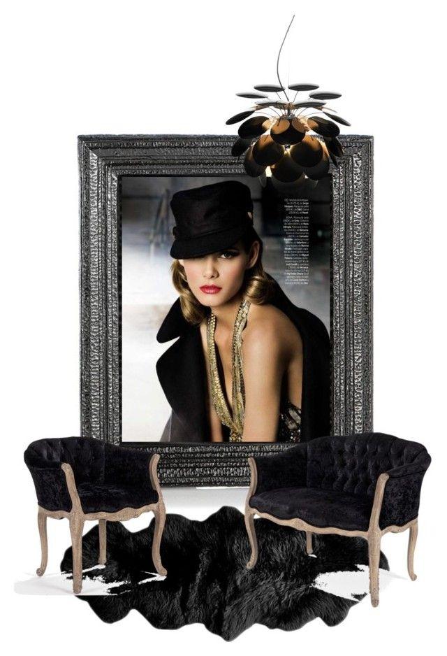 """garbo glam"" by katrisha-art ❤ liked on Polyvore featuring interior, interiors, interior design, home, home decor, interior decorating, Michael Aram, Marset, beautyinterior and fashioninterior"