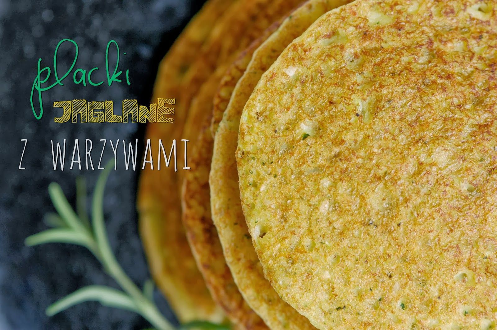 Millet pancakes with vegetables