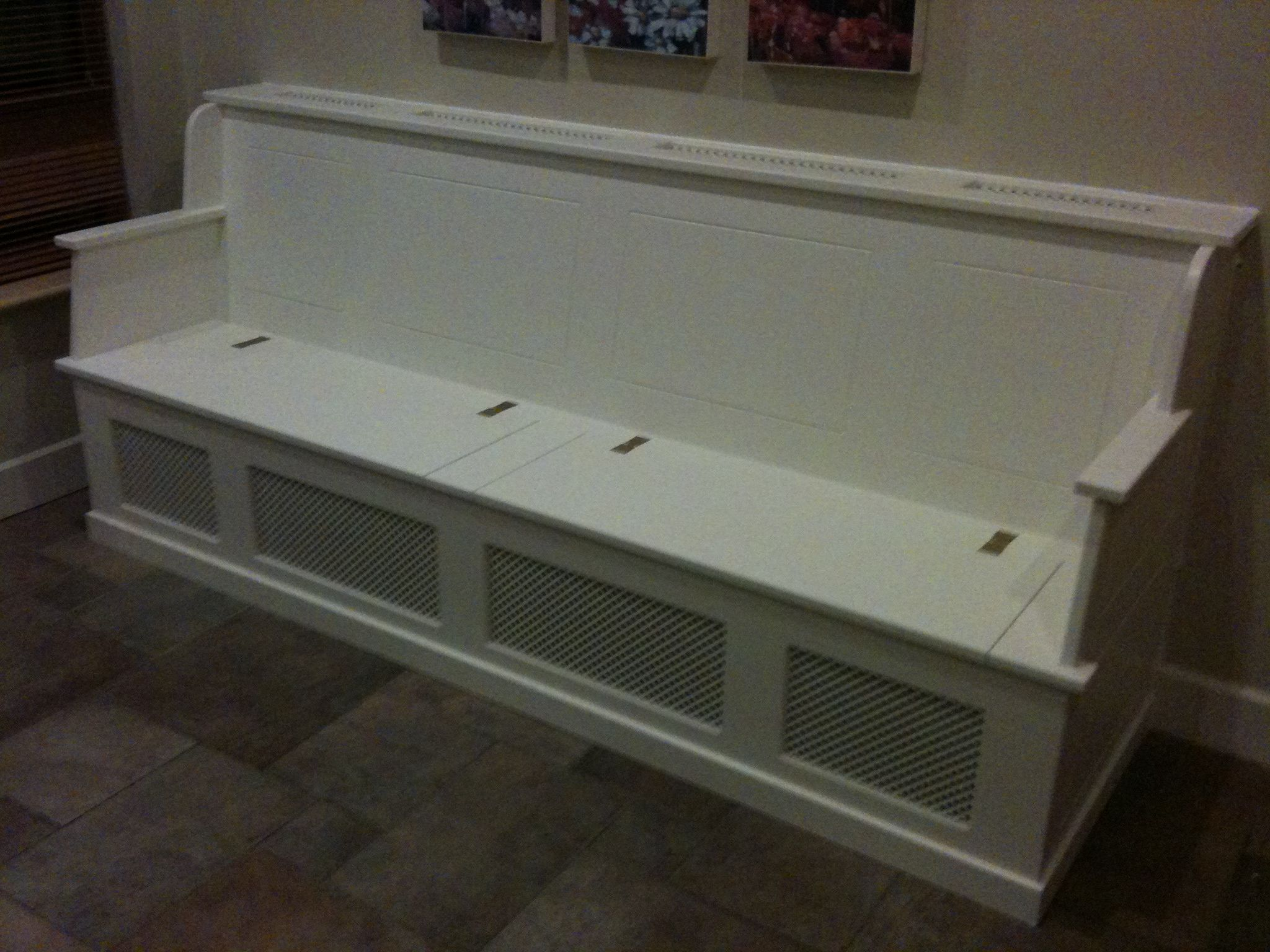 Radiator Cover Bench Bench With Storage Dining Room Bench
