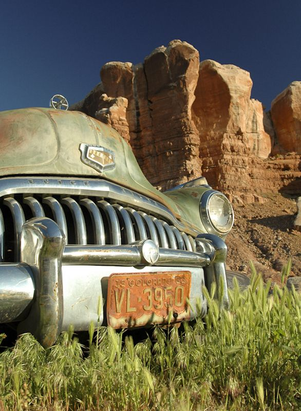 Buick Near Bluff Utah C Scott Cressman Voiture Americaine