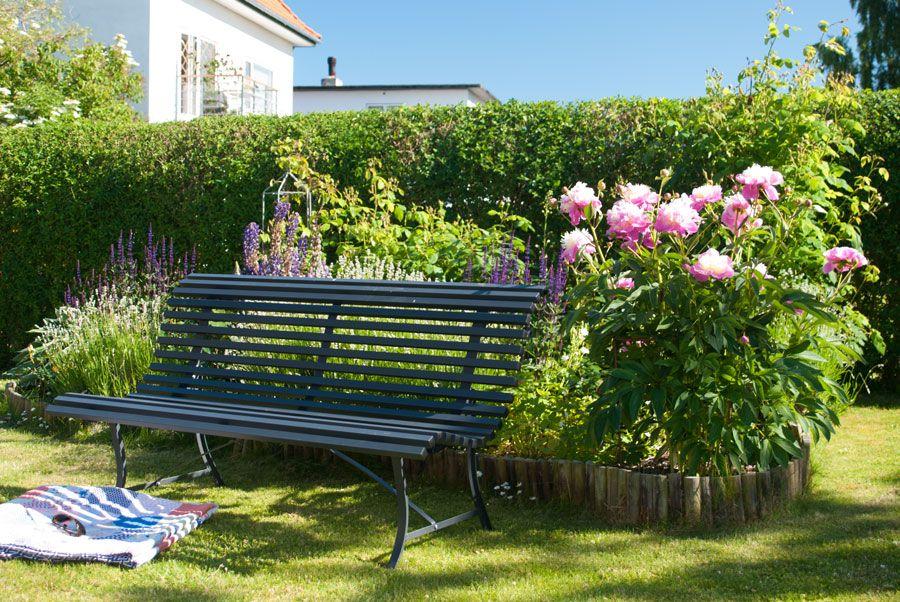 Fermob Havebaenk Sommer Og Lyse Naetter Freiluft Garten Gartenbank