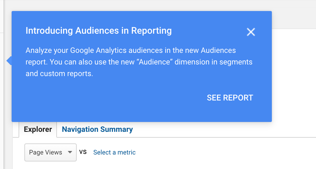How To Use the Google Analytics New Custom Audience Report