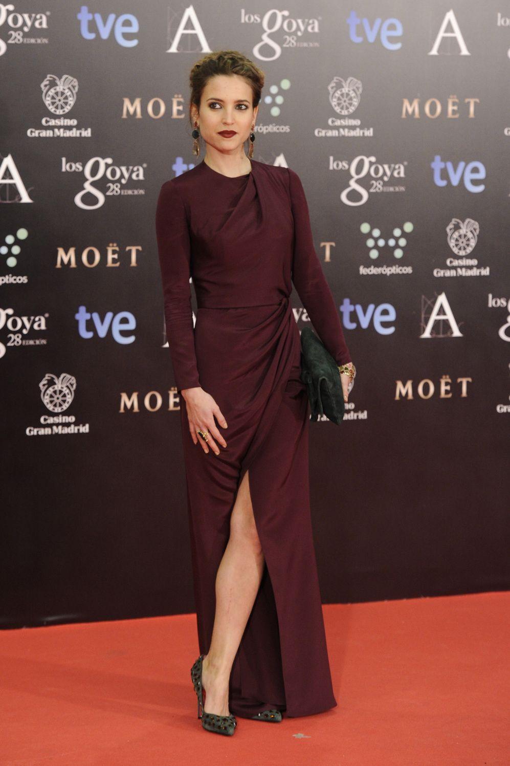 La Alfombra Roja La Actriz Ana Fernández Premios Goya El Mundo Moda Vestidos Alta Costura Mejores Vestidos De Fiesta