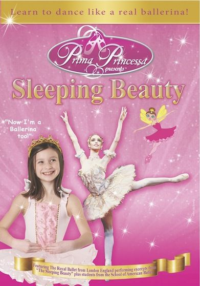 Go on an adventure with the ballerina  fairy Prima Princessa to watch excerpts from The Royal Ballet of London's Sleeping Beauty and learn ballet steps.