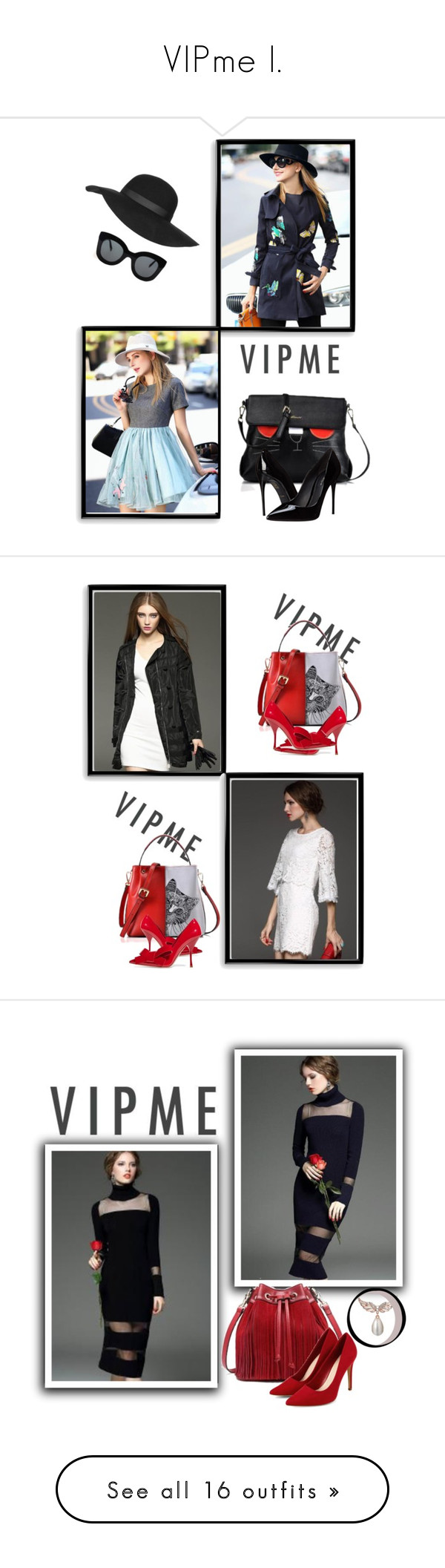 """""""VIPme I."""" by zura-b ❤ liked on Polyvore featuring Bomedo, Dolce&Gabbana, Topshop, CÉLINE, women's clothing, women, female, woman, misses and juniors"""