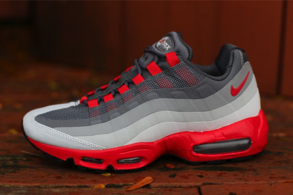 Nike Air Max 95 EM Wolf Grey Varsity Red White