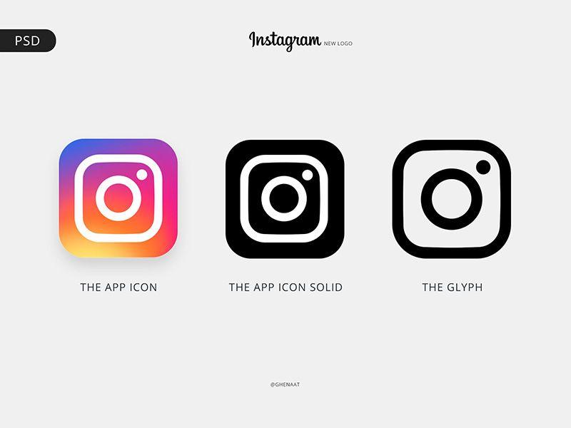 Instagram Logo Free Psd Instagram Logo New Instagram Logo Facebook And Instagram Logo