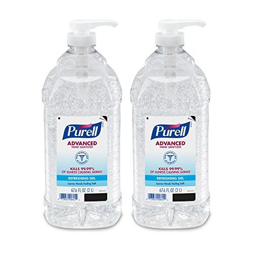 Purell Advanced Instant Hand Sanitizer 2l Pump Bottle Original