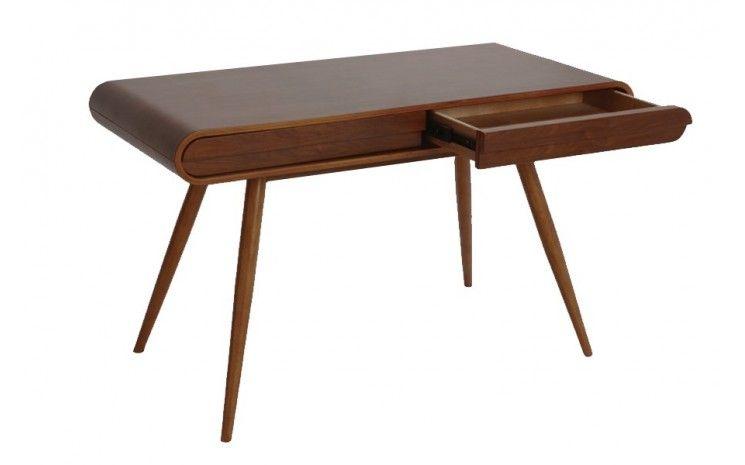 Bureau en bois design scandinave chris noyer un bureau en bois