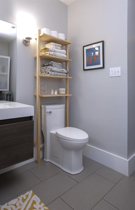 Photo of Bathroom Storage Shelves