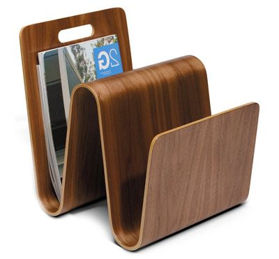Magazine Stand By Eric Pfeiffer For Offi. Molded And Folded To Keep Your  Favorite Magazines