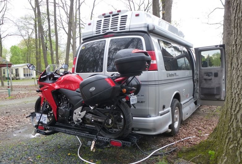 Unconcealed Carry Take Your Bikes Along With Your Rv Rv
