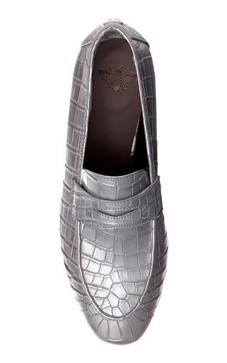 Bougeotte Crocodile Loafer