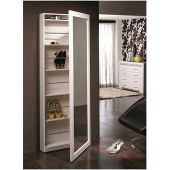 Keia mueble melamine zapatera vivanco melamine 18m ideas para casa muebles mueble - Mueble bano estrecho ...