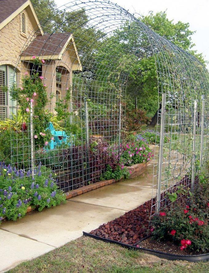 Diy Beautiful Garden Cedar Arbor Design Project Ideas Outdoor Plans And Tips Diybackyardgardenin Garden Archway Diy Garden Trellis Beautiful Gardens