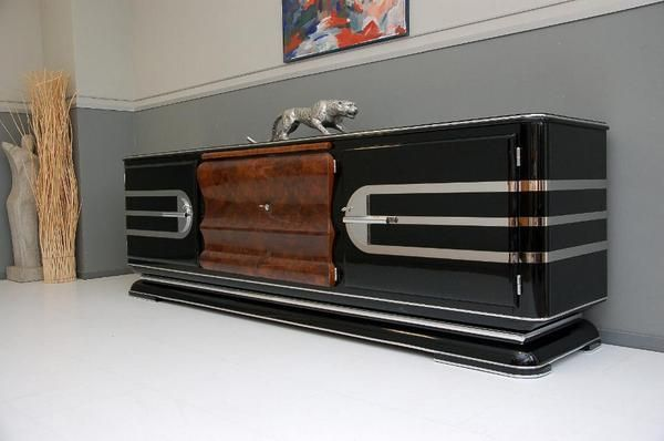 Art Deco Sideboard Streamline 30er Jahre Art Deco Deko Deko Interieur