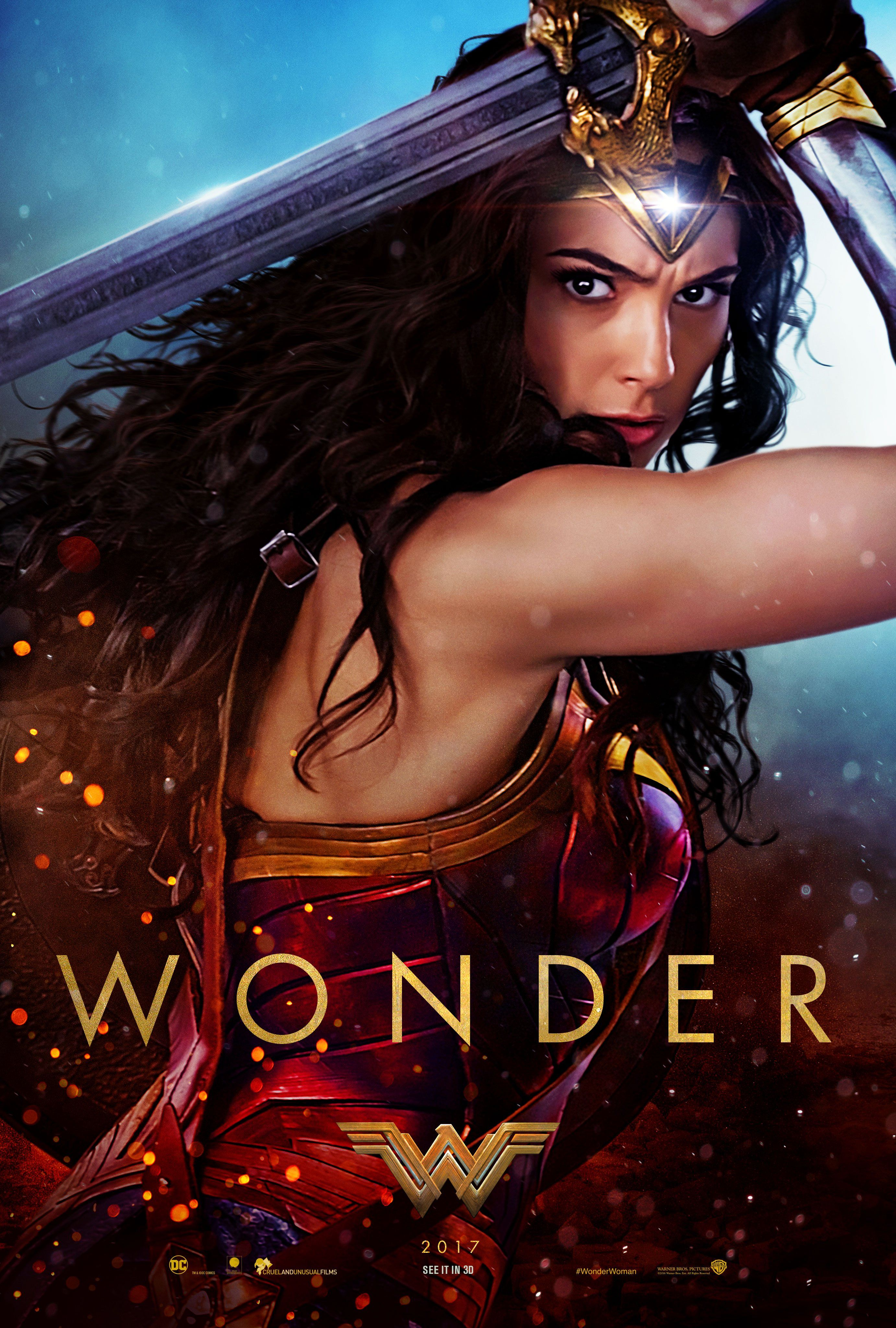 Three Powerful New Posters For WONDER WOMAN Debut Ahead Of Trailer ...