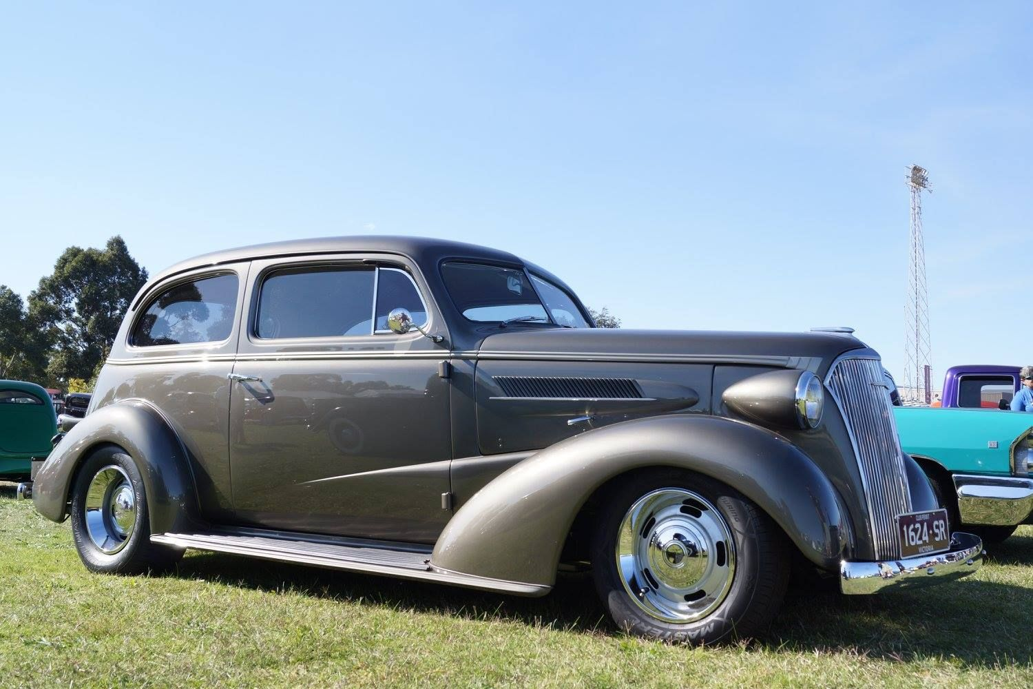 1937 Fisher Chevrolet Flatback Coach Chevrolet Chevy Antique Cars