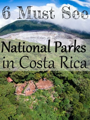 6 Must See National Parks in Costa Rica - Don't miss them! Get the scoop! UnevenSidewalks.com