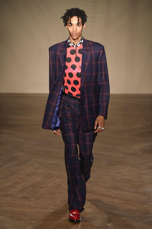 Paul Smith's SpringSummer 2019 Collection Focuses on Rakish Tailoring'