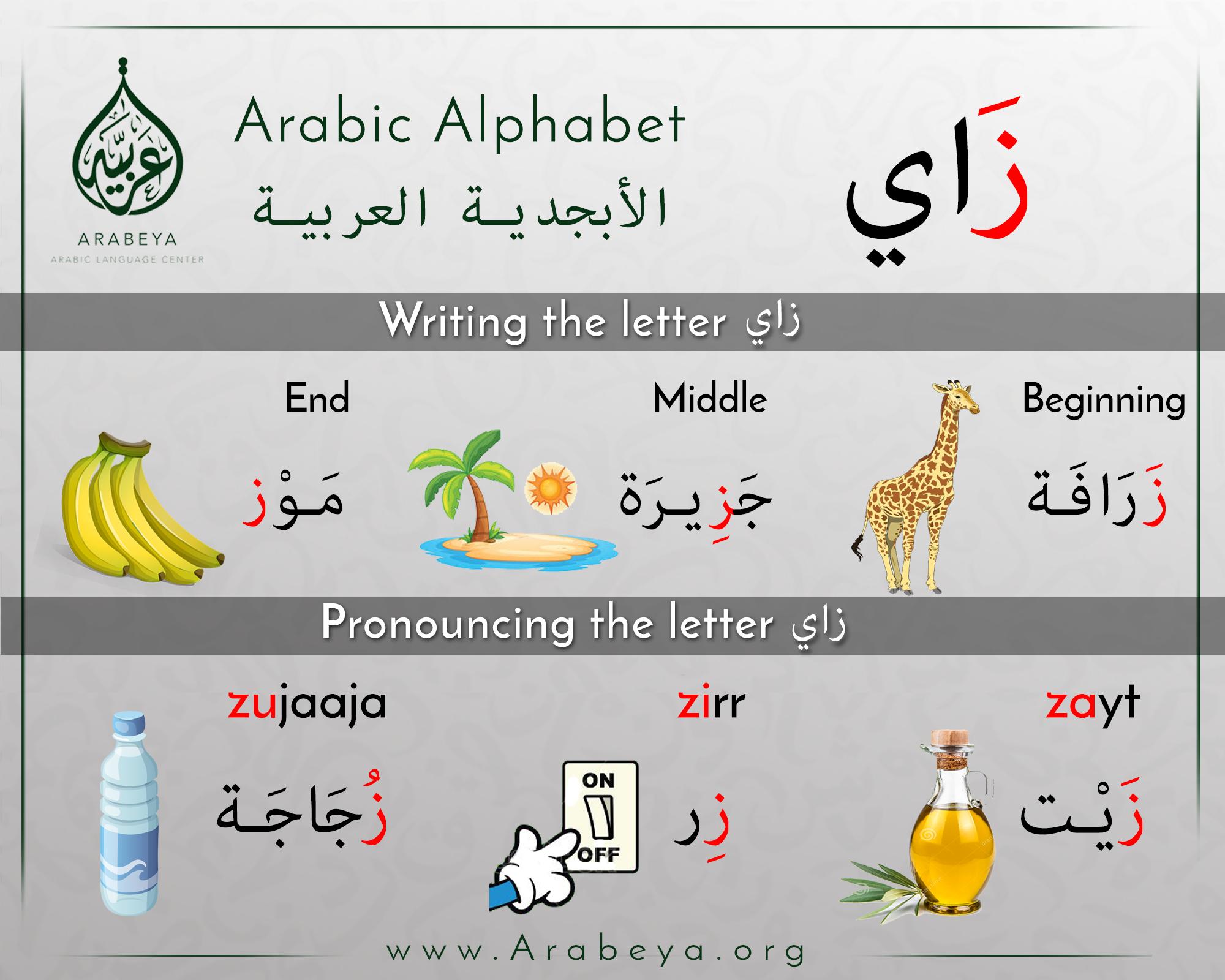 The Letter Zaay