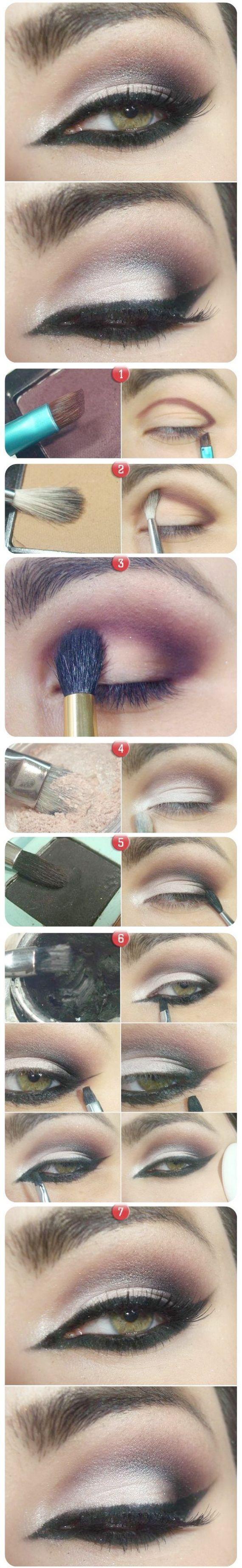 Makeup for black dress green eyes  Smokey Eye Makeup Dailymotion Eye Makeup Guide For Beginners  Eye